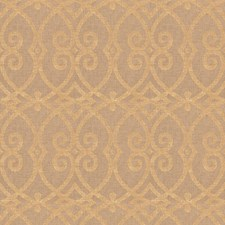 Gold Geometric Decorator Fabric by Trend