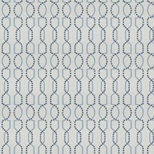Ocean Embroidery Decorator Fabric by Trend