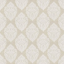 Ivory Medallion Decorator Fabric by Trend