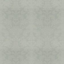 Aqua Diamond Damask Decorator Fabric by Fabricut