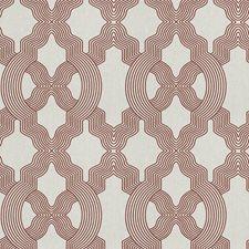Scarlet Lattice Decorator Fabric by Fabricut
