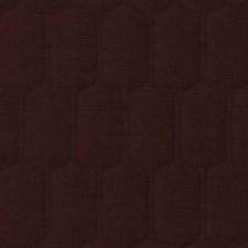 Wine Geometric Decorator Fabric by Duralee