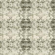 Black Smoke Print Pattern Decorator Fabric by S. Harris