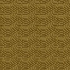 Amber Gold Geometric Decorator Fabric by S. Harris