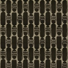 Metal Geometric Decorator Fabric by S. Harris