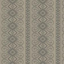 Sage Stone Embroidery Decorator Fabric by Fabricut