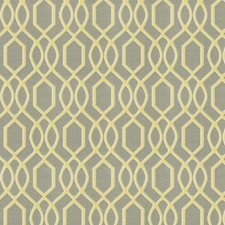 Canary Lattice Decorator Fabric by Trend