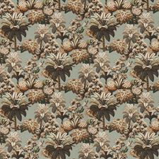 Citrus Mint Leaves Decorator Fabric by S. Harris