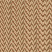Cinnabar Chevron Decorator Fabric by Vervain