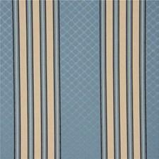 Lapis Stripes Decorator Fabric by Lee Jofa