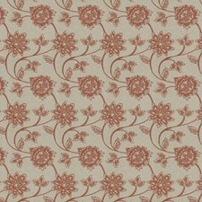 Spice Embroidery Decorator Fabric by Trend