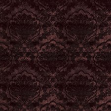Lingon Berry Damask Decorator Fabric by Stroheim