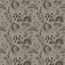 Thistle Embroidery Decorator Fabric by Stroheim