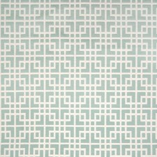 Sky Geometric Decorator Fabric by Greenhouse