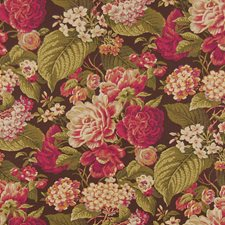 Cordial Floral Decorator Fabric by Greenhouse