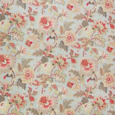Dew Floral Decorator Fabric by Greenhouse