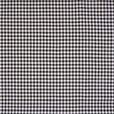 Ebony Check Houndstooth Decorator Fabric by Greenhouse