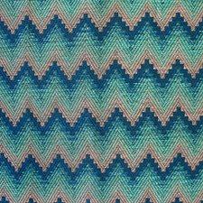 Diva Aqua Blue Decorator Fabric by Scalamandre