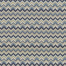 Monaco Blue Decorator Fabric by Kasmir