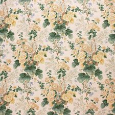 Althea Linen Pr-Citron Print Decorator Fabric by Lee Jofa