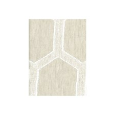 Natural Lattice Decorator Fabric by Andrew Martin