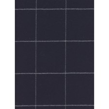 Navy Plaid Decorator Fabric by Andrew Martin
