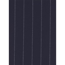 Navy Stripes Decorator Fabric by Andrew Martin