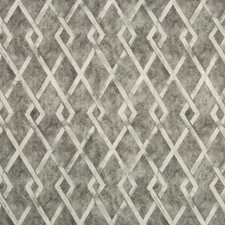 Grey/Light Grey Diamond Decorator Fabric by Kravet