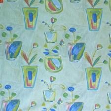 Light Blue/Green/Blue Contemporary Decorator Fabric by Kravet