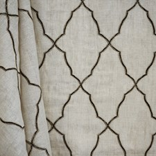 Black/Creme/Beige Transitional Decorator Fabric by JF