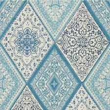 Aquamarine Diamond Decorator Fabric by Kravet