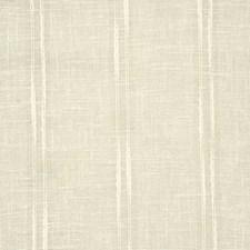Ecru Stripe Decorator Fabric by Pindler