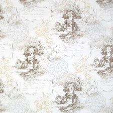 Cocoa Toile Decorator Fabric by Greenhouse