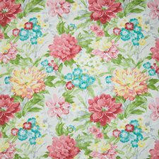 Eggshell Floral Decorator Fabric by Greenhouse