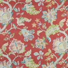 Poppy Floral Decorator Fabric by Greenhouse