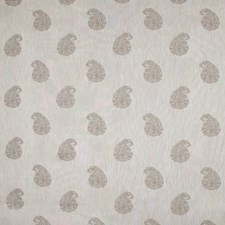 Linen Paisley Decorator Fabric by Greenhouse