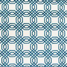 Nautical Geometric Decorator Fabric by Greenhouse