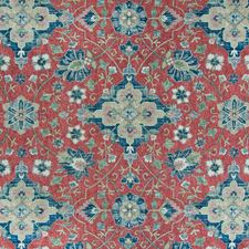 Vintage Red Southwest Lodge Decorator Fabric by Greenhouse