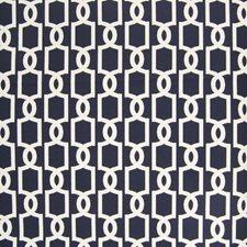 Tide Lattice Decorator Fabric by Greenhouse