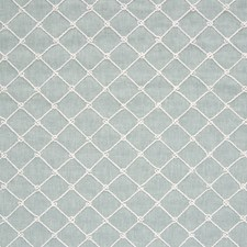 Spa Lattice Decorator Fabric by Greenhouse
