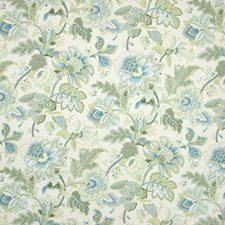 Jade Metallic Decorator Fabric by Greenhouse