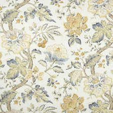 Mist Floral Decorator Fabric by Greenhouse
