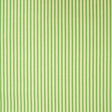 Green Stripe Decorator Fabric by Greenhouse