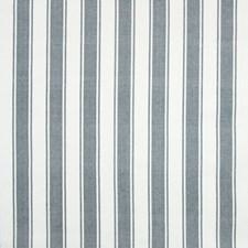 Slate Stripe Decorator Fabric by Greenhouse