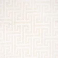 Cream Geometric Decorator Fabric by Greenhouse
