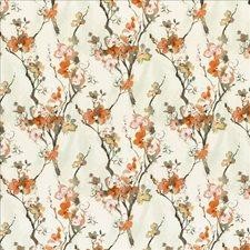 Orange Blossom Decorator Fabric by Kasmir