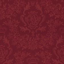Coronation Red Decorator Fabric by Ralph Lauren