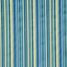 Blue Stripes Decorator Fabric by G P & J Baker