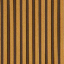 Chocolate/Bronze Stripes Decorator Fabric by G P & J Baker