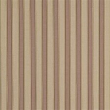 Lilac/Cream Stripes Decorator Fabric by G P & J Baker